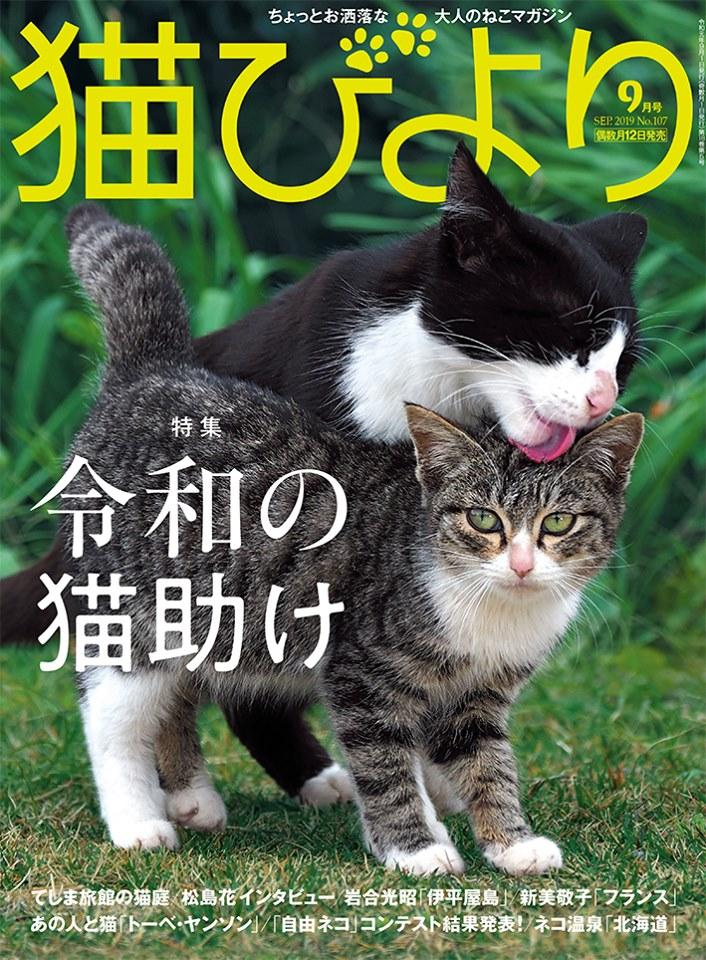 猫びより2019年9月号
