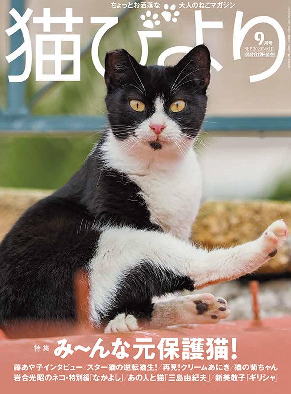 猫びより2020年9月号